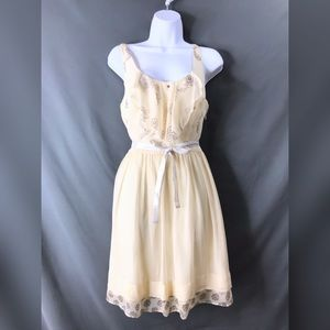 Johnny Was 4 Love and Liberty Silk Layered Dress
